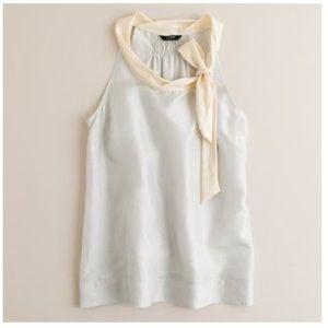 - JCrew Silk tie neck cami top M 6